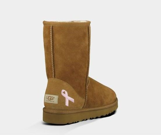 pink uggs ribbons