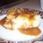 Coffee Liqueur Bread Pudding with Caramel Sauce | Recipe