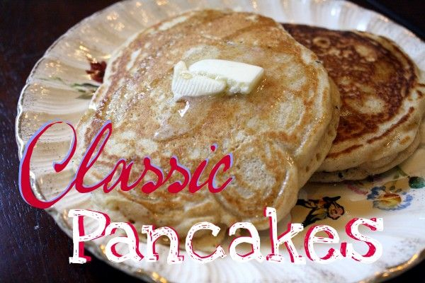 Classic pancakes | Recipes to try | Pinterest