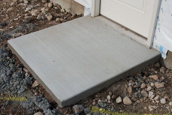 Small Concrete Slab : Small concrete slab how to gardening pinterest