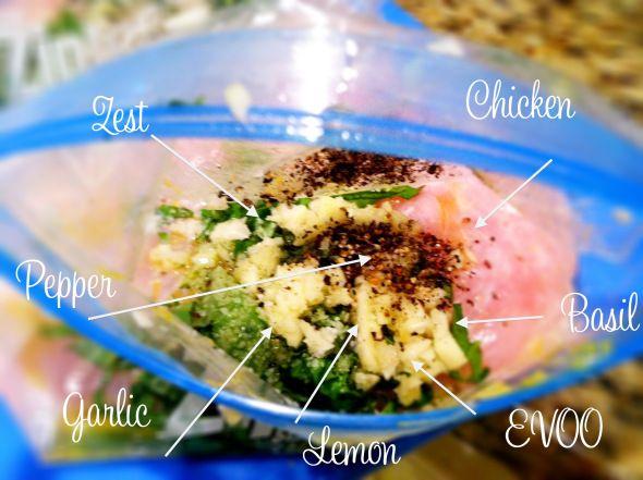 lemon basil chicken | food | Pinterest