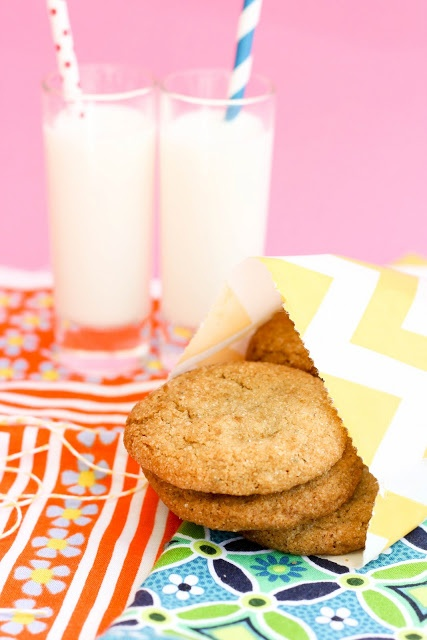 Brown Butter Brown Sugar Cookies | Stressed=Desserts | Pinterest