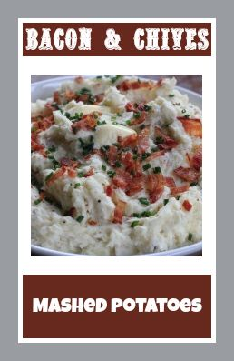 Mashed Potatoes With Bacon And Chives