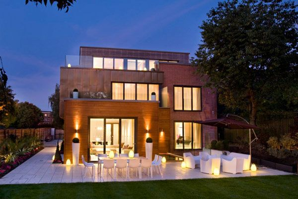 Inspiring Landscape Terraces Showcased by Grange View Residence in UK #architecture