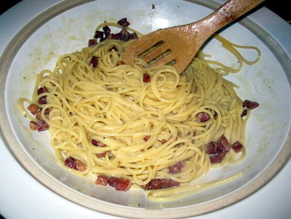 pastor ryan s pasta carbonara recipes dishmaps pasta carbonara the ...