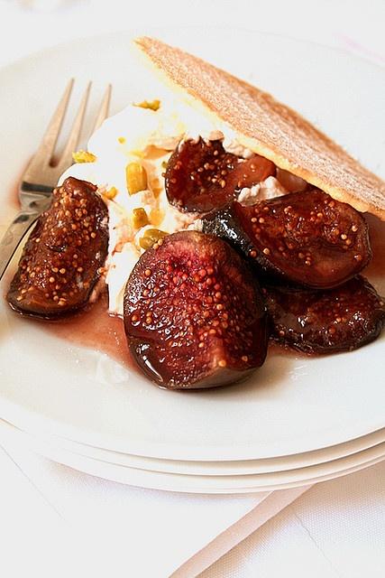 roasted figs   Food   Pinterest