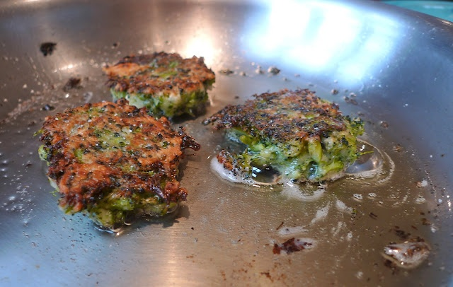 siriously delicious: Broccoli Parmesan Fritters