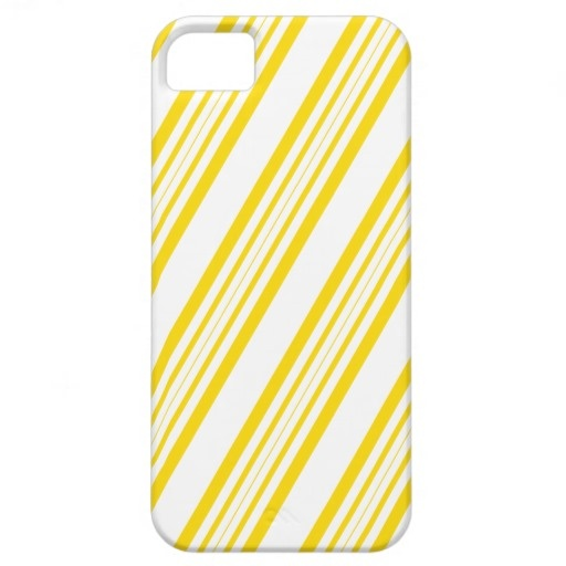iPhone iphone5 phone case : Yellow Diagonal Lines iphone5 Case iPhone 5 Cover