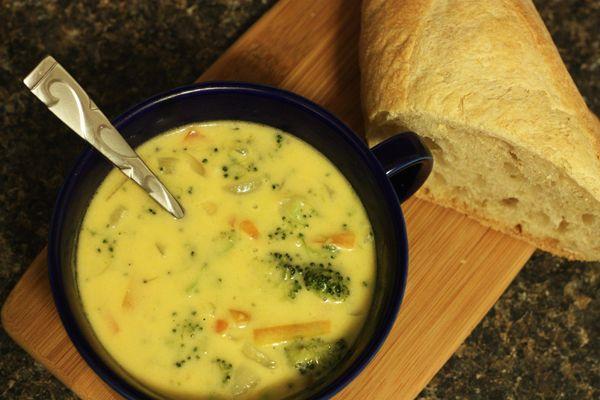 Cheddar Broccoli Soup | MmM Good! | Pinterest