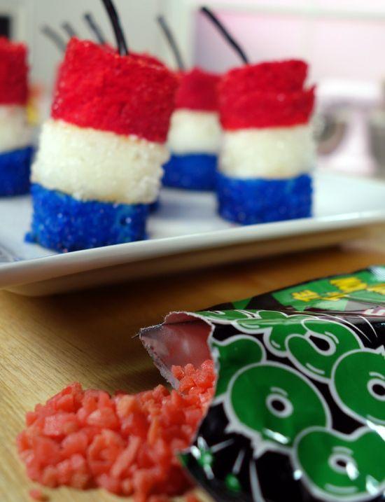 Firecracker Cakes | Recipe