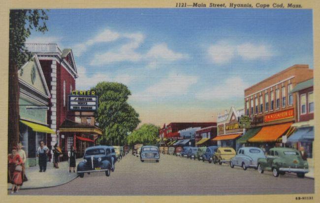 main street hyannis hyannis massachusetts history pinterest