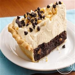 Mile-High Peanut Butter-Brownie Pie from Pillsbury® Baking