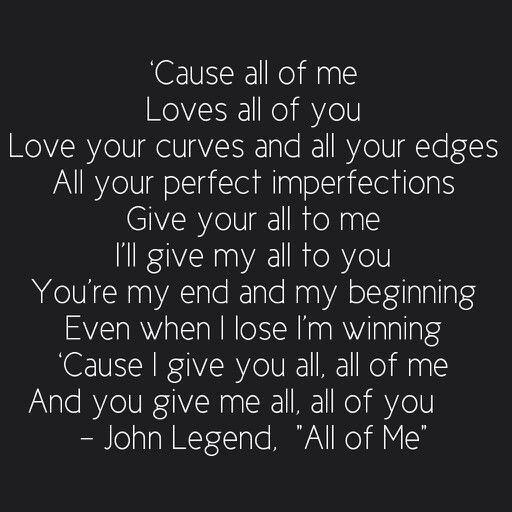 all of me lyrics by john legend