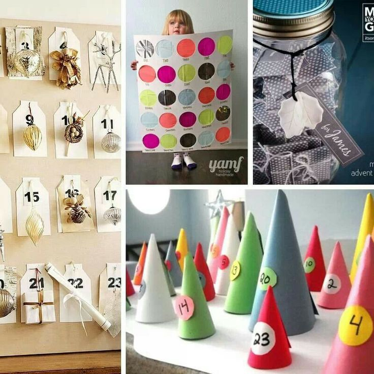DIY advent calendar ideas | Xmas | Pinterest
