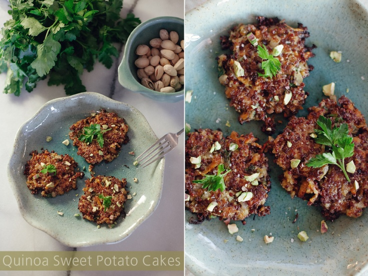 Baby Cakes of the Quinoa and Sweet Potato Kind » 513 {eats}