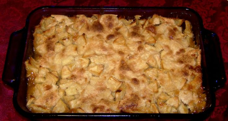 Mountain Apple Cobbler Christmas | Where's the kitchen | Pinterest