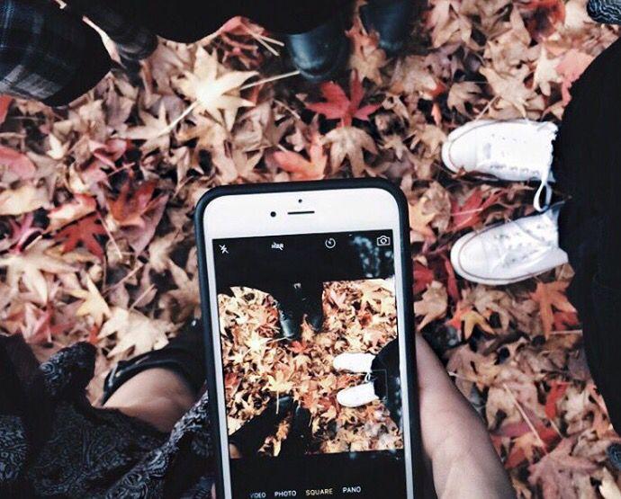 Идеи для фото в инстаграм осень