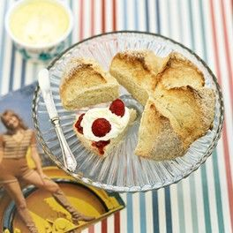 buttermilk scones amp raspberry jam house amp garden