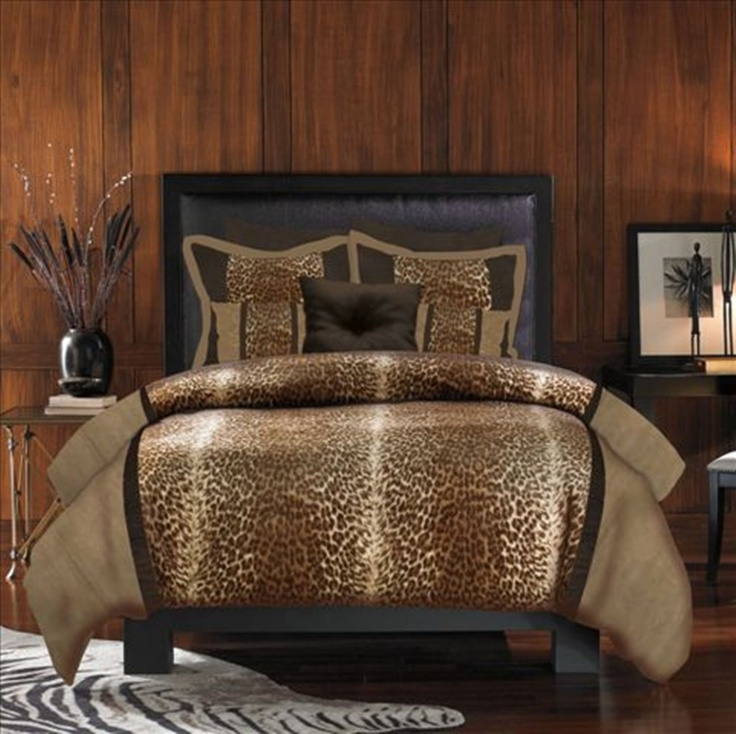 cheetah print bedding set