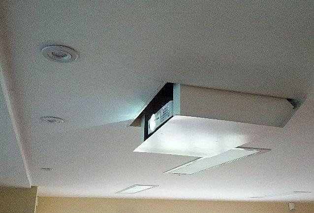 Hidden Ceiling Projector Living Spaces Pinterest