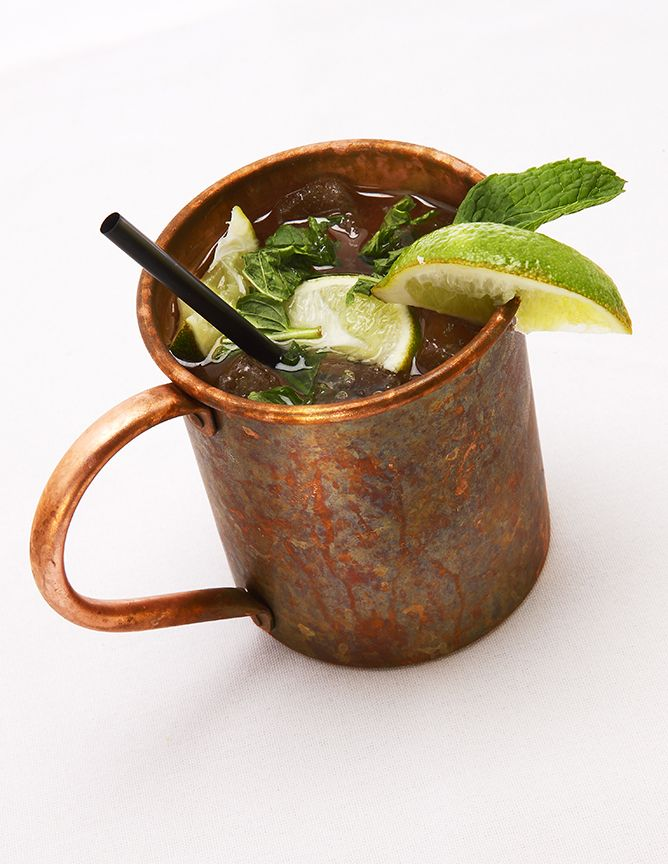 Moscow Mule ~ my current favorite cocktail because I can't get enough ...