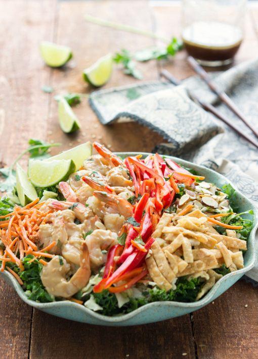 HealthyRecipe // Thai Shrimp Salad | Food & Beverages | Pinterest