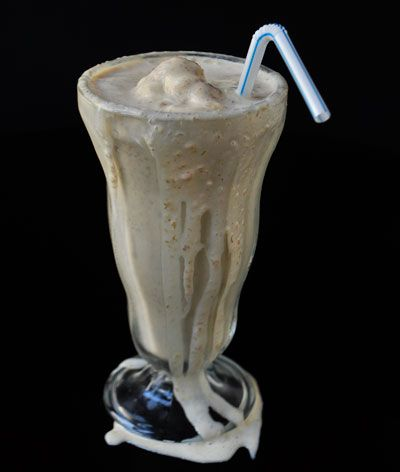 Bananas Foster Milkshake-- Caramel and rum are perfect partners for ...