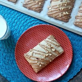 Peanut Butter and Jelly Pop Tarts in Whole Wheat Crusts #peanutbutter ...