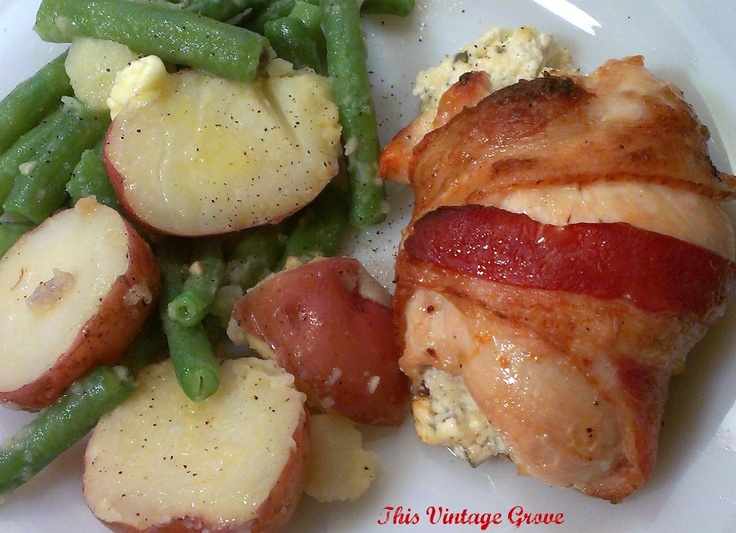 made this tonight and it was great! Chicken, cream cheese and bacon ...