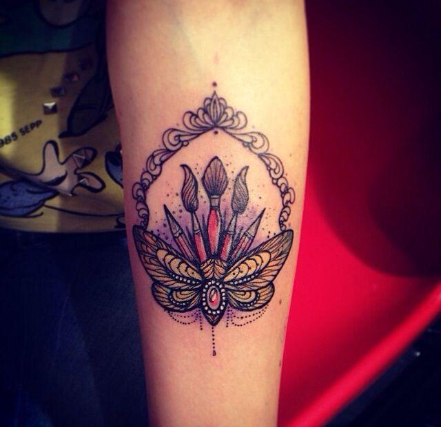 Neo Traditional Tattoo Paintbrushes  Pinterest