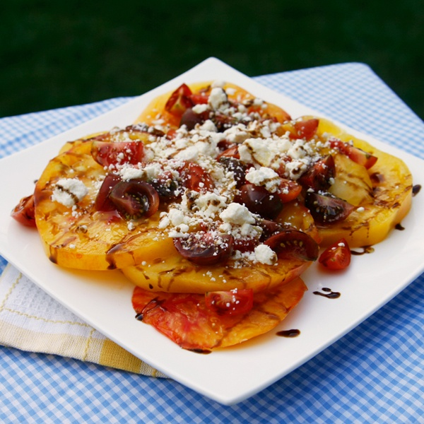 Tomato Feta Summer Salad | Recipe