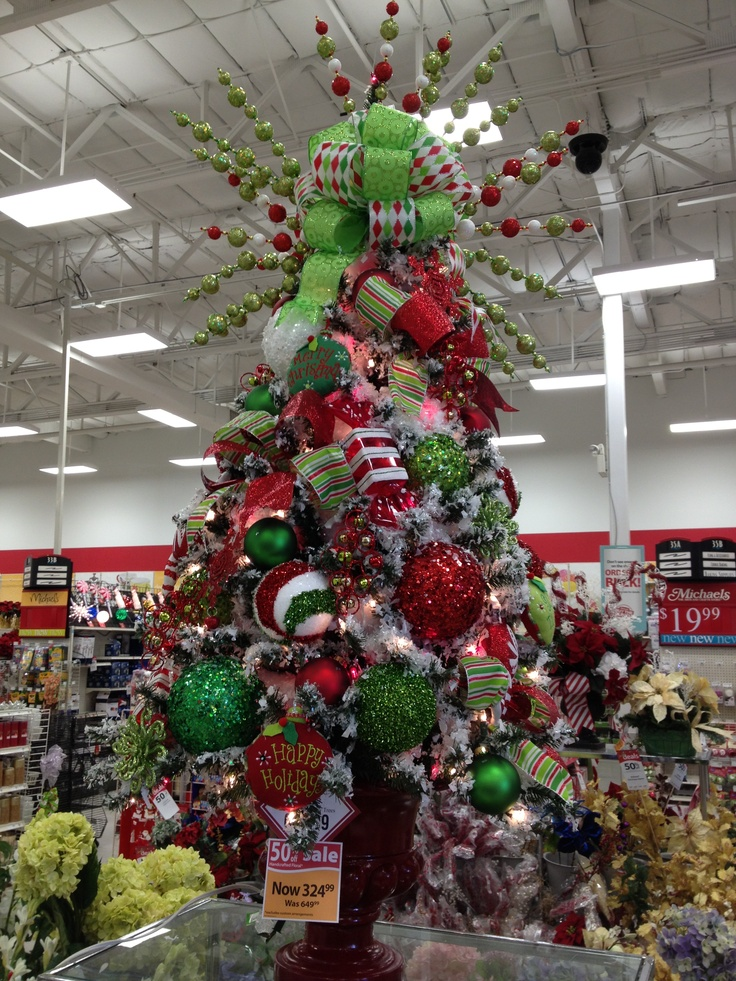 Pin by christian rebollo on my christmas floral designs for Christmas trees at michaels craft store