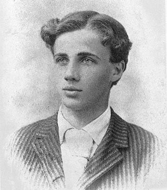 The original pin said this was Robert Frost as a youth.  I'm pinning to show my sister because he looks so much like my nephew.  What do you think Shari?