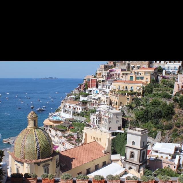 Positano Amalfi coast.  Italy