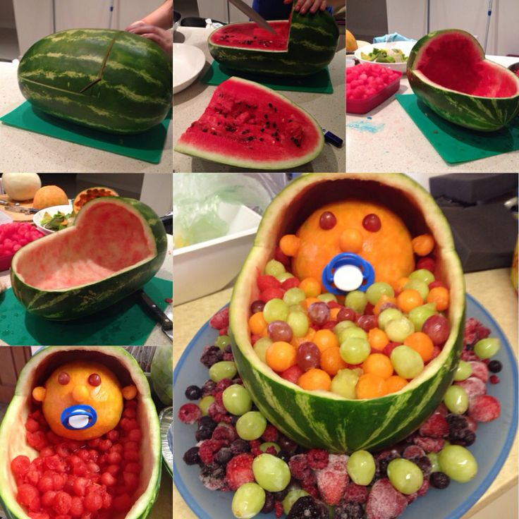 fruit baby baby shower decoration fun baby shower ideas
