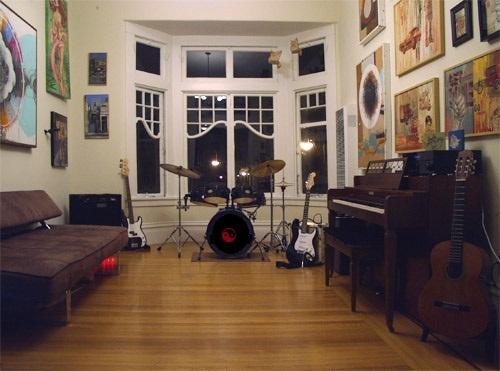 Music room dream house pinterest for Music room in house