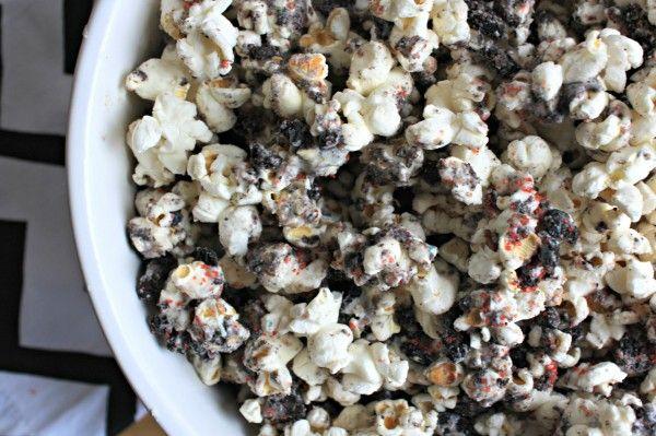 Cookies and Cream Birthday Popcorn