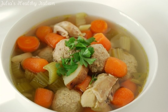 Italian Chicken Soup | Whatcha Got Cookin'? | Pinterest