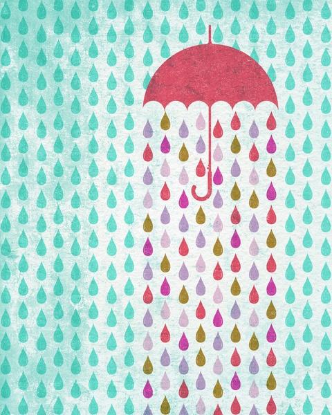 Drop in the bucket art print rain rain go away pinterest