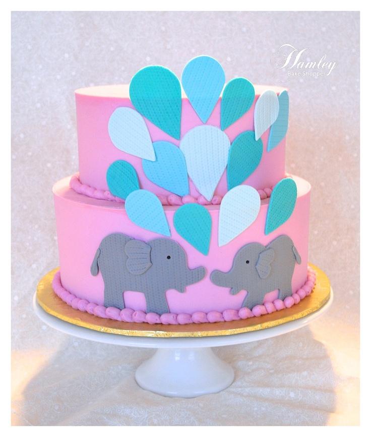 elephant baby shower cake baby shower cakes pinterest