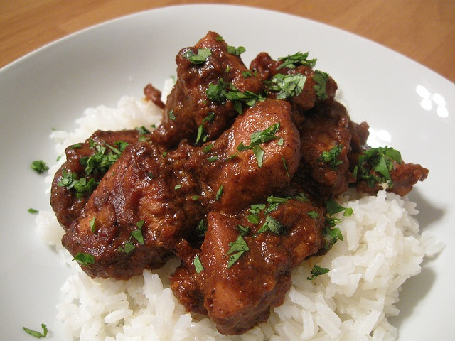 Fiery Chicken Vindaloo - From the Goa region of India it's an amazing ...