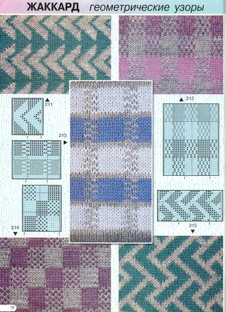 Схемы и узоры вязание на машине нева