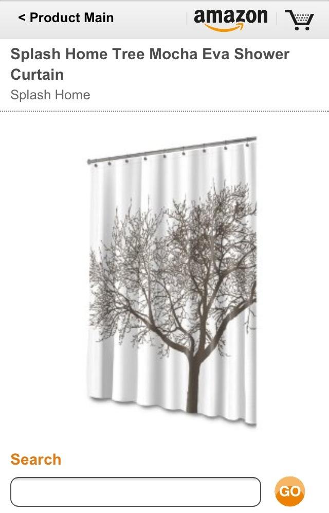 Splash tree shower curtain | Our new house | Pinterest