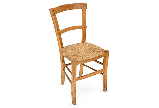 Wood Straw Chair