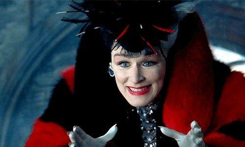 Cruella De vil.
