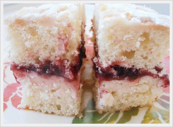 Raspberry Layered Coffee Cake | LET ME EAT CAKE ☂ | Pinterest