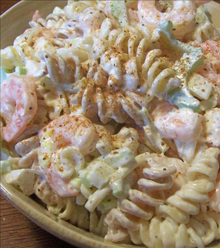 Shrimp Pasta Salad Recipes — Dishmaps