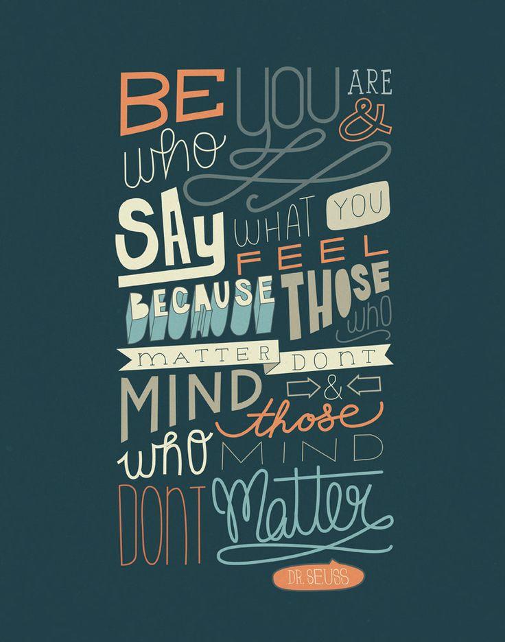Dr. Seuss Quote 11x14 ...