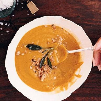 Sage Butternut Squash Soup | Soup's on! | Pinterest