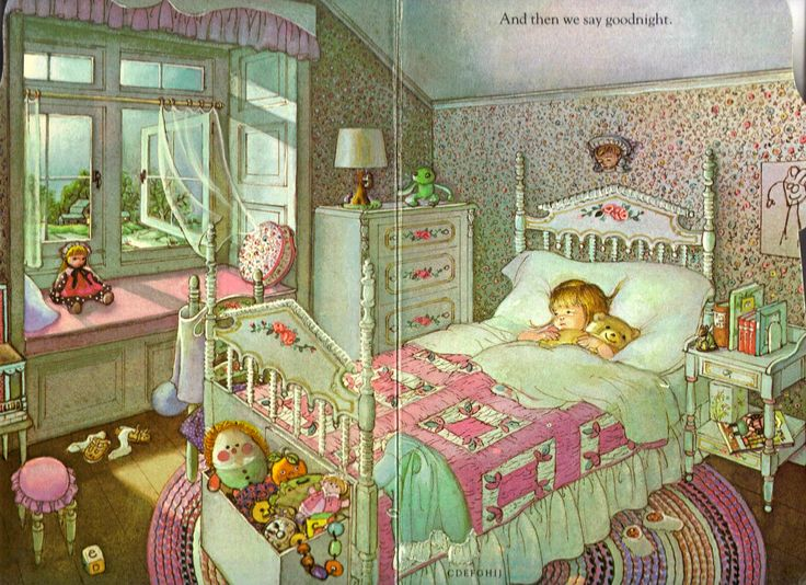 """My Goodnight Book"" by Eloise Wilkin, 1981"